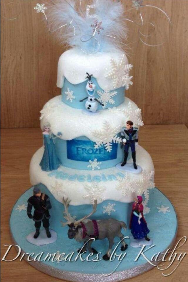 14 best Emilia birthday cake images on Pinterest Birthdays Frozen