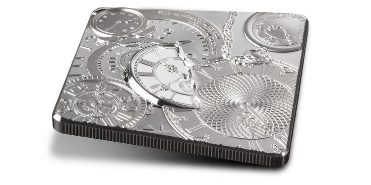 Kapsuła czasu - oficjalna moneta z czystego srebra SKARBNICA NARODOWA