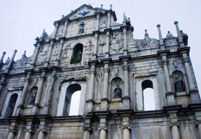 Ruinas de la Catedral de Macao