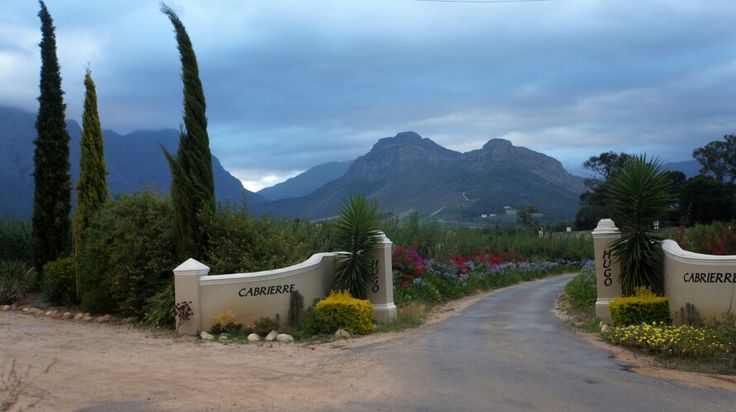 Beautiful view from Franschhoek