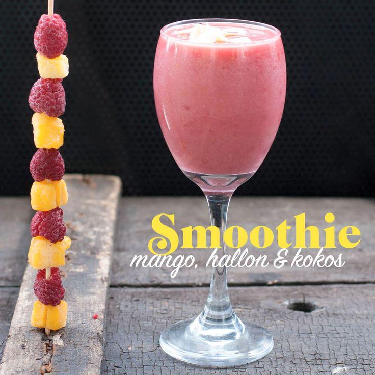 Vad smakar bättre en varm sommardag än en läskande smoothie?