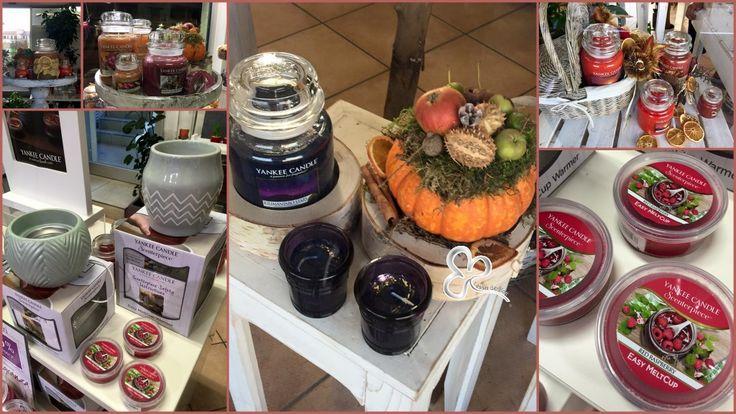 Candele profumate. Ecco le nuove fragranze dell'autunno per aromatizzare la tua casa proposte da yankee candle e in vendita presso L'Asso dei Fiori.