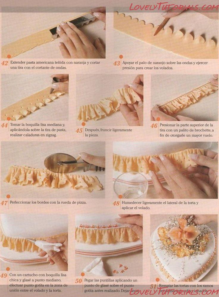 how to make white fondant