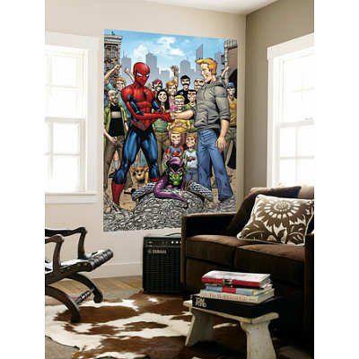 (48x72) Cory Hamscher - Marvel Adventures Spider-Man No.34 Group: Spider-Man Green Goblin Flash Th @ niftywarehouse.com #NiftyWarehouse #Spiderman #Marvel #ComicBooks #TheAvengers #Avengers #Comics