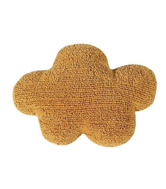 Cloud Cushion, Mustard