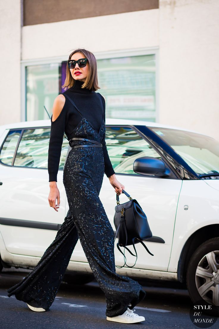 #New on #STYLEDUMONDE  http://www.styledumonde.com  with @juliya_pelipas #JuliePelipas at #paris #fashionweek #pfw #black #glitter #outfit #ootd #streetstyle #streetfashion #fashion #mode #style: