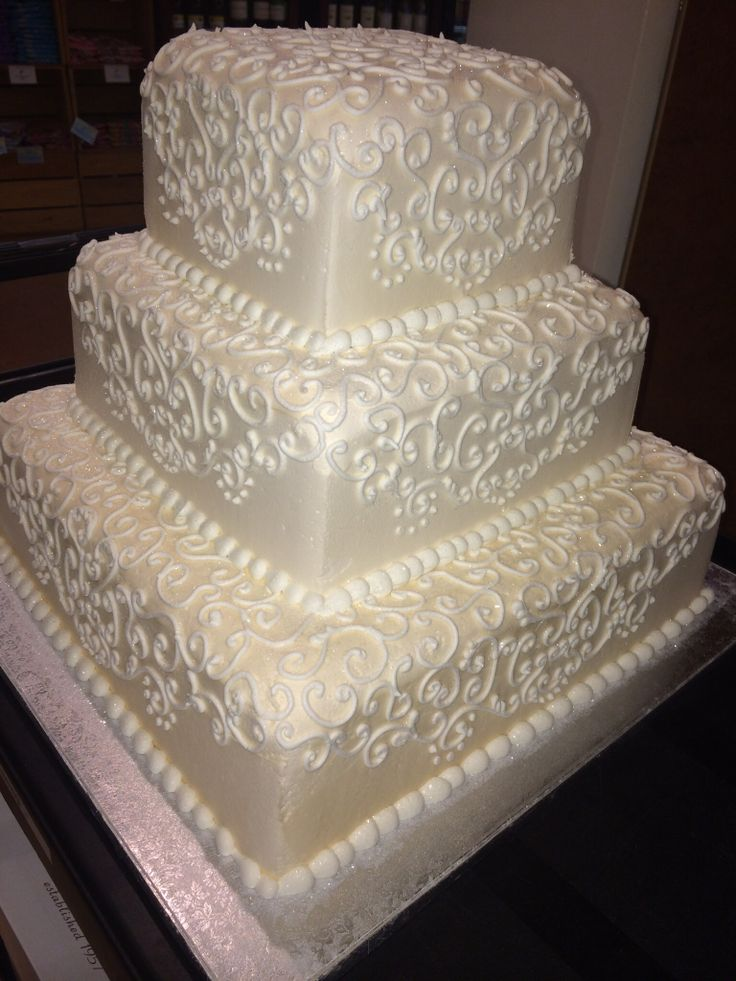Publix GreenWise Wedding Cake. Hyde Park; Tampa, FL ...