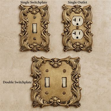 fleur de lis decorative switchplates - Decorative Switch Plates