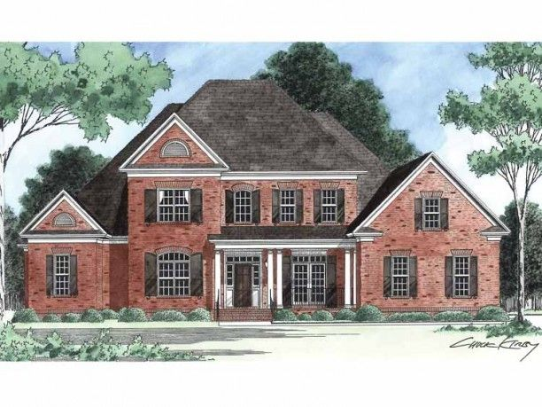 New American House Plan With 3743 Square Feet And 5
