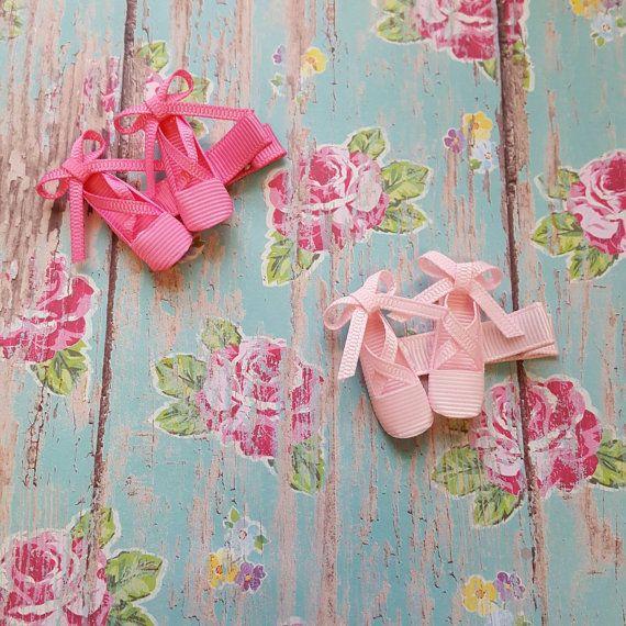 Adorable Ballerina slippers Hair clip