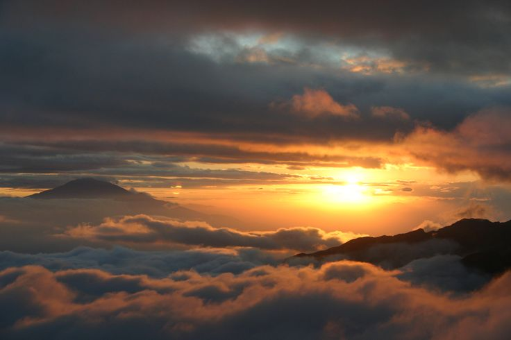 This has to be one of the most spectacular displays of Natural Beauty in the world. Uhuru Peak, Tanzania, East Africa.