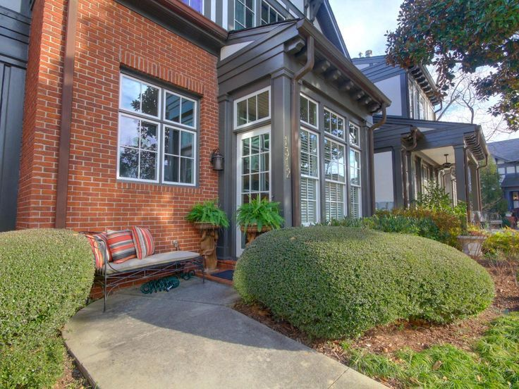 Best Color For Front Door On Brick House Part - 45: A White Door Pops Against Gray And Red Brick In A Historic Atlanta  Neighborhood. Brick Homes Can Use A Front Door Color Other Than Red, Says  Landscape ...