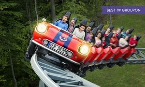 Groupon - $ 38.50 for Single-Day Admission to Busch Gardens Williamsburg (Up to $77 Value) in Williamsburg. Groupon deal price: $38.50