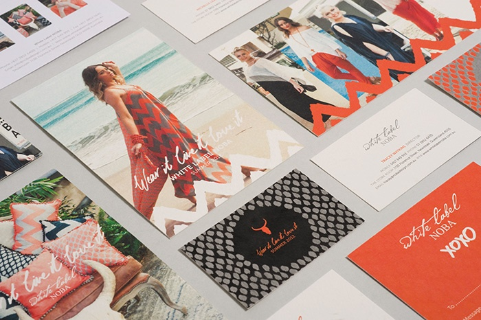 White Label NOBA | Fashion Label | Emma Brownson Design