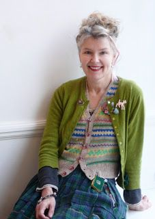 Julie Arkell / an image of staying true to yourself while ageing.