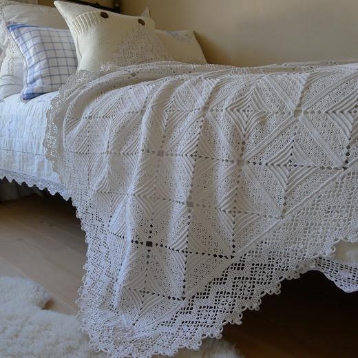 329 mejores ideas sobre colchas de crochet en pinterest - Colchas de ganchillo modernas ...
