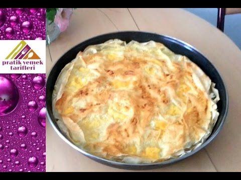 Sodalı Kolay Börek Tarifi - Pratik Yemek Tarifleri - YouTube