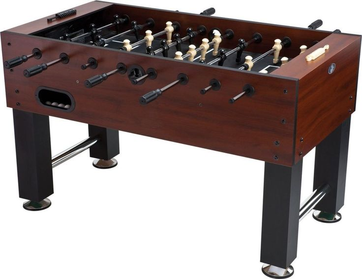 Foosball Table With Aerial Ball Return In Style Game Room Harvard Bar Boys Fun