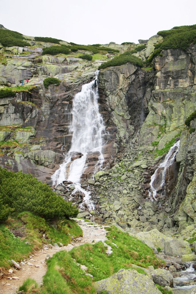 High Tatras - Vodopád (waterfall) Skok