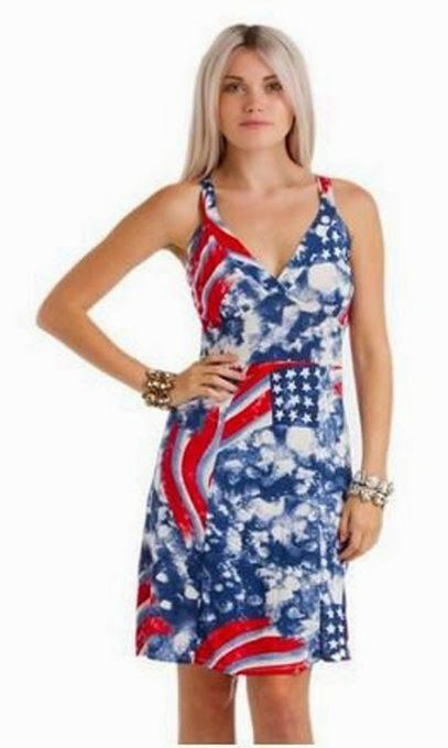 American Flag Print Outfits for Women and Teens: dresses, shorts, tops! - 19 Best American Flag Print Clothes Images On Pinterest