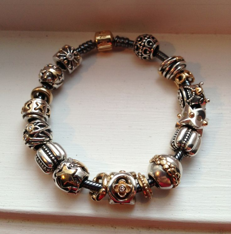 love my oxidized two tone bracelet yasmeen pandora. Black Bedroom Furniture Sets. Home Design Ideas