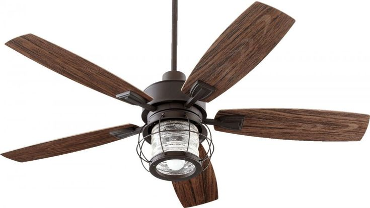 Outdoor Paddle Fan With Nautical Style Galveston Patio