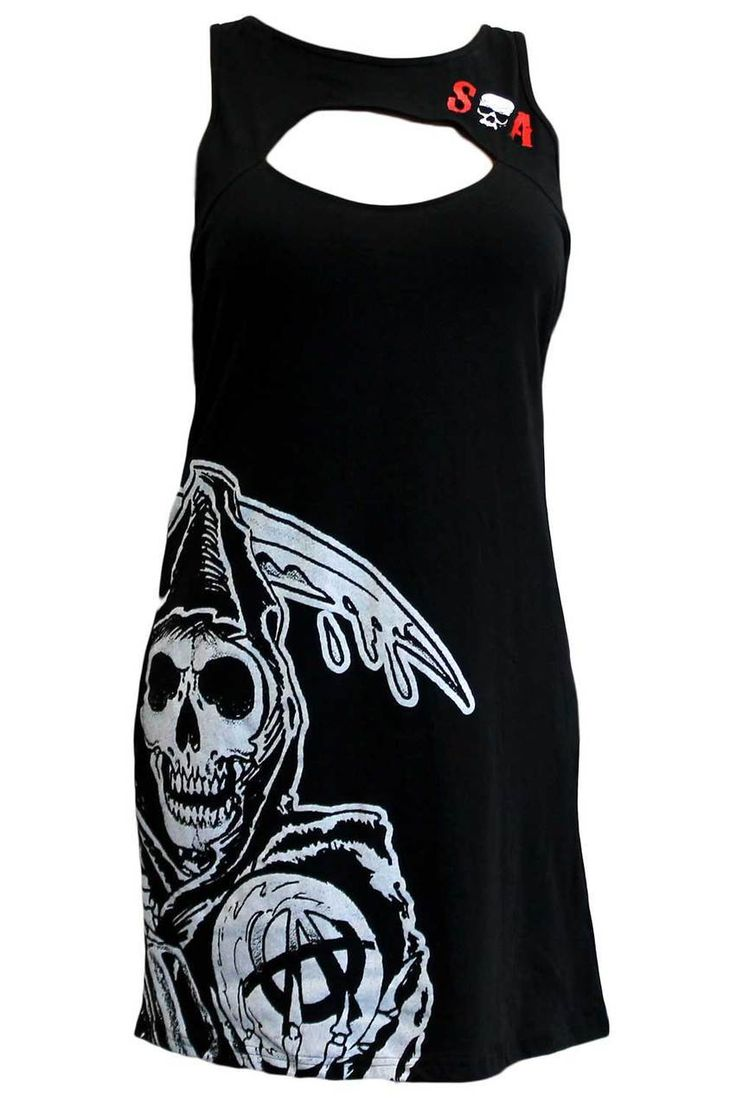 BikerOrNot Store - Sons of Anarchy - Ladies Cut Out Dress, $24.97 (http://store.bikerornot.com/sons-of-anarchy-ladies-cut-out-dress/)