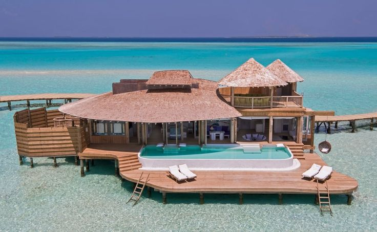 There will be 24 water villas and one island villa when the resort opens, with additional...