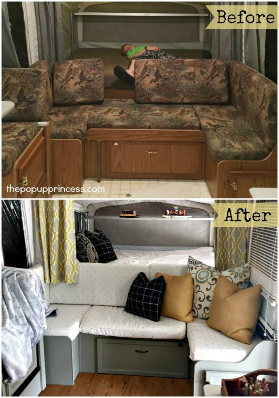 Gwen's Pop Up Camper Makeover - The Pop Up Princess
