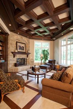 Living fireplaces with hearths Design Ideas, Pictures, Remodel and Decor