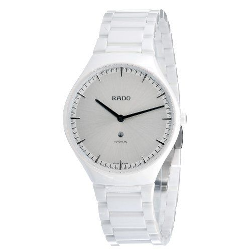 Rado Unisex R27970102 Swiss Automatic Watch Rado. $1649.99. Casual dress watch.. Water-resistant to 30 M (99 feet). Antireflective sapphire. Case diameter: 40mm.. Swiss automatic