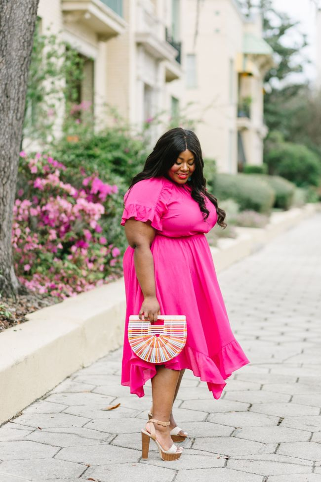 National Dress Day with Lane Bryant | Plus size spring ...