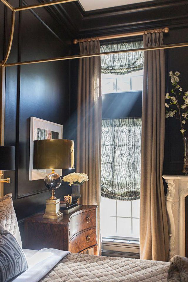 Bedroom Inspiration | Ebony Walls