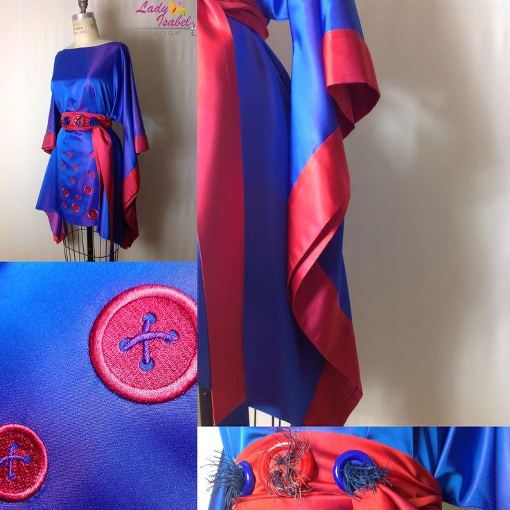 Colección kimonos cortos  #Ladyisabel #color #magia #botón