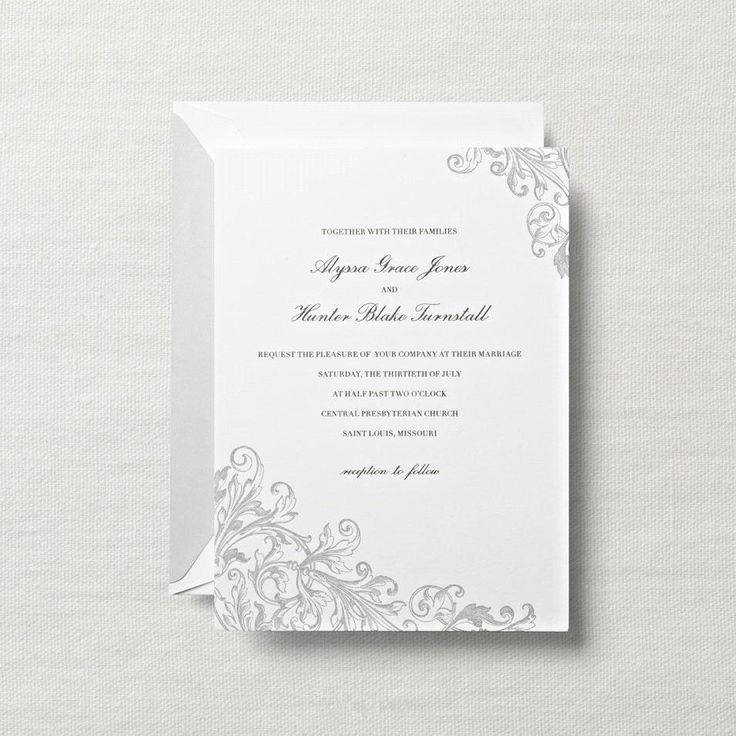 sample wedding invitation letter for uk visa%0A Letterpress Pearl White Embassy Wedding Invitation  Among the willows and  wisteria  a celebration most