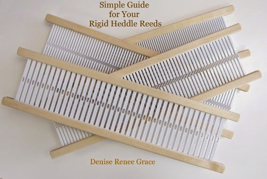 A guide on how to effectively use your Rigid Heddle Reeds!
