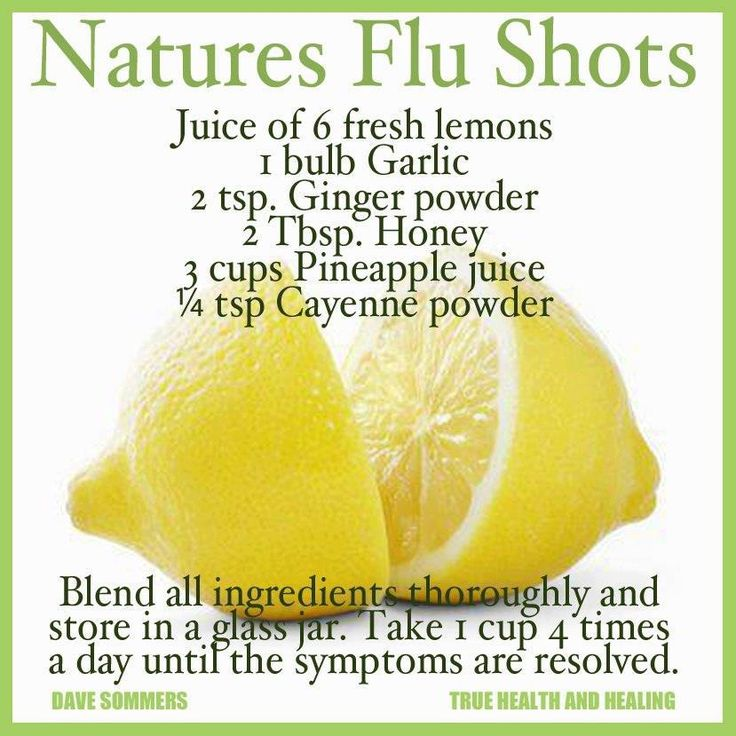 Natures' Flu Shots  #Dave Sommers