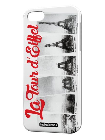 La Tour d' Eiffel Paris France Case for iPhone 5 & 5s