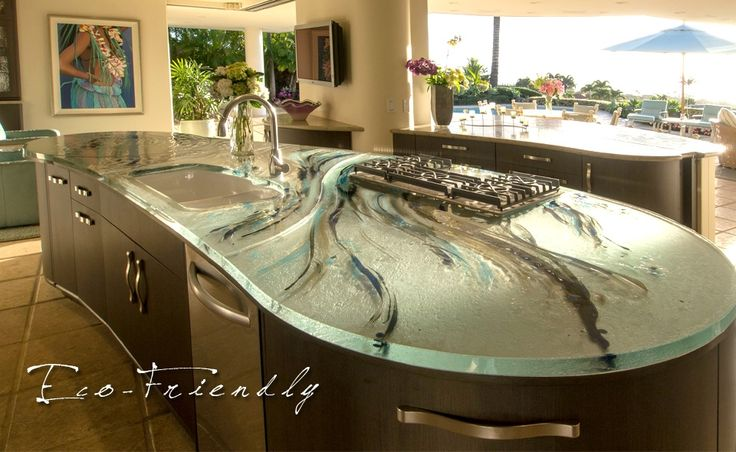 Glass counter tops are definitely in my future!