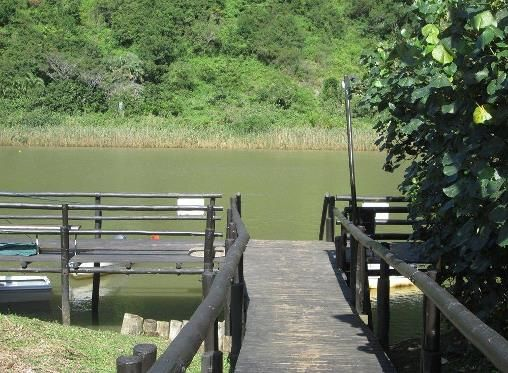 wooden walkway to jetty