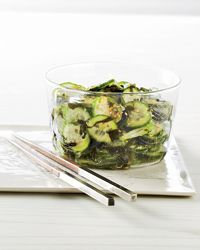Wakame-and-Cucumber Salad Recipe (and a link to seaweed harvested off  the coast of Maine)
