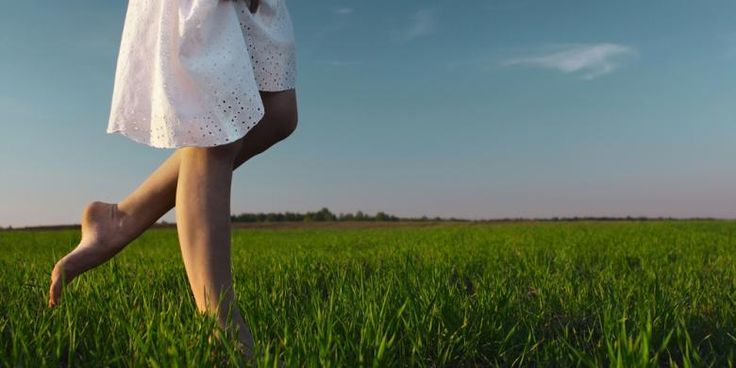 occasionally do walking barefoot to be more healthy. Try to walk barefoot on the grass, soil, sand and natural rocks...