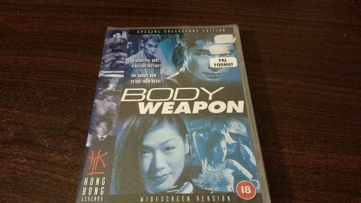 Body Weapon (DVD) Chiu Man Chuk, PAL FORMAT REGION TWO HONG KONG LEGENDS