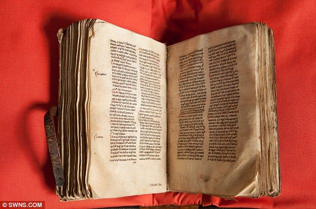 Check out this 700-year-old Bible dictionary, which helped nuns living in Wiltshire, England, to understand the #Bible. It somehow survived the ransacking of convents, monasteries and Catholic churches that took place under King Henry VIII in the 16th Century.