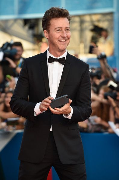 Edward Norton Photos Photos - Actor Edward Norton attends the Opening Ceremony and 'Birdman' premiere during the 71st Venice Film Festival on August 27, 2014 in Venice, Italy. - Opening Ceremony at the 71st Venice Film Festival