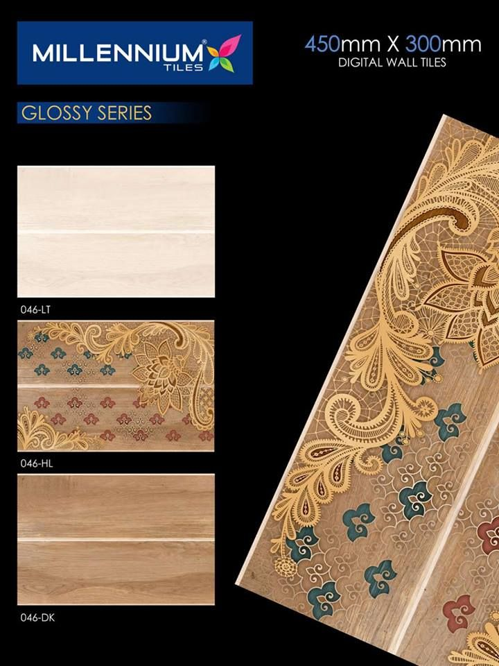 046 Glossy Wall Tile Series In 2020 Wall Tiles Digital Wall Wall Design