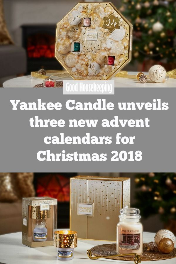 The Yankee Candle Advent Calendars For 2019 Are Here And They