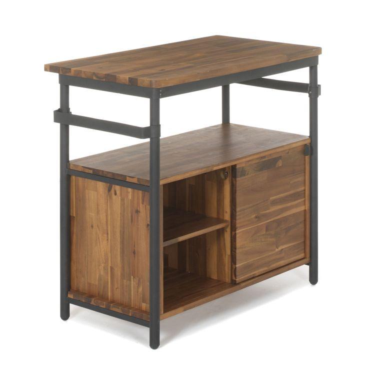 Meuble sous-vasque en bois et métal - Kota Bain - Les meubles sous-vasques-Les meubles de salle de bains-Salle de bains-Par pièce - Décoration intérieur - Alinea