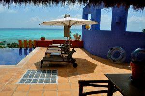 Casa de los Sueños en #IslaMujeres, hotel de lujo en #México que hace honor a su nombre, #resort #hotel #lujo