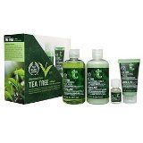 Great Christmas Present For Girlfriend – The Body Shop Tea Tree 4-Piece Facial Skin-Care Regimen